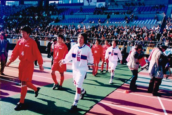 2001年高校サッカー選手権 全国大会 国立競技場